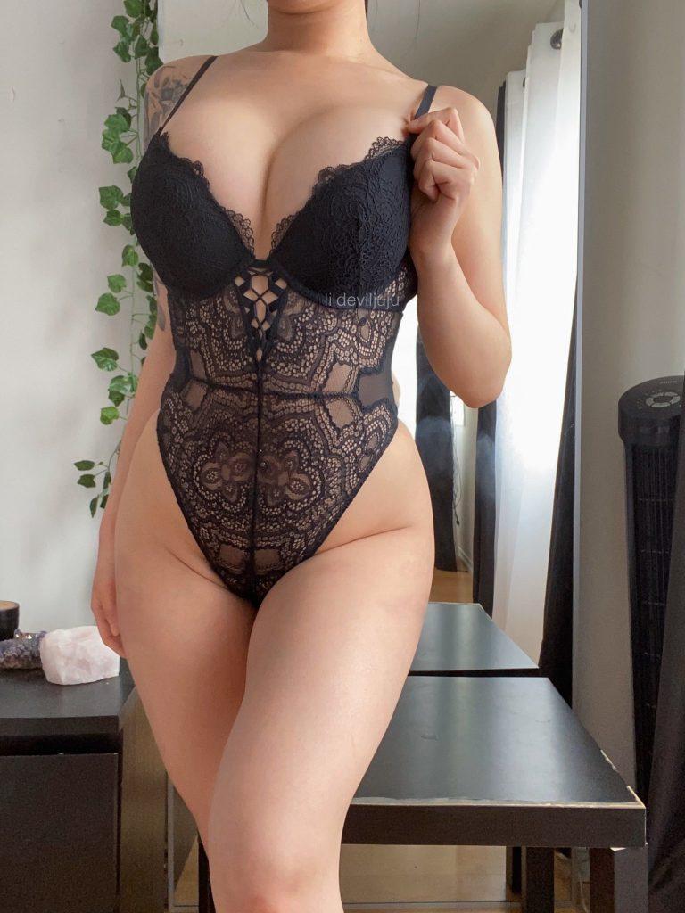 Sexy girl in underwear
